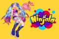 Ninjala logo with Lucy