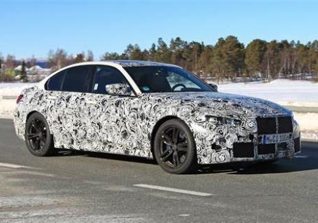 BMW M3 2021 Prototype