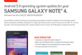 Android 5.0 Lollipop update for Samsung Galaxy Note 4 on Verizon Wireles