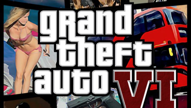 Grand Theft Auto VI concept cover art