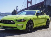 If you're out looking for a new sports car, then perhaps the new Ford Ecoboost Mustang is for you.  Here are the details that this car has that you might be interested in: