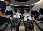 After a two-month mission, SpaceX brings back home 2 astronauts, proving that it could transport people to and from space safely.