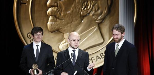 Michael Dante DiMartino, Bryan Konietzko and Aaron Ehasz