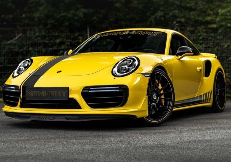 Ready for the Manhart TR 850? Stunningly Gorgeous Porsche