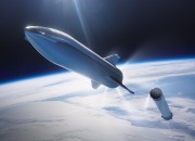 Starship SN8 prototype is prepping for a test flight to 60,000 ft [18,300 m] & back. The test Starship SN8 program will conduct first-ever Static Fire with three Raptor engines.