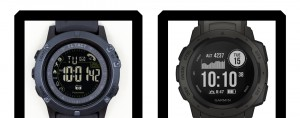 T1 Tact Watch Midnight Diaond vs Garmin Instinct