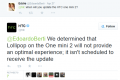 HTC confirms its One Mini 2 will not receive Android Lollipop